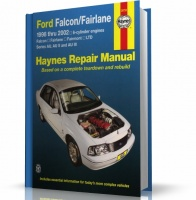 FORD FALCON, FAIRLANE, FAIRMONT & LTD (1998-2002)