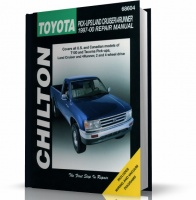 TOYOTA PICK-UPS, LAND CRUISER, 4RUNNER (1997-2000) CHILTON